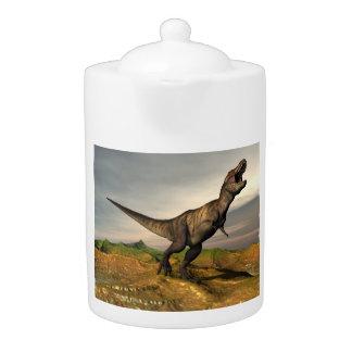 Tyrannosaurus rex dinosaur - 3D render
