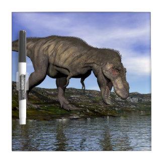 Tyrannosaurus rex dinosaur - 3D render Dry Erase Board