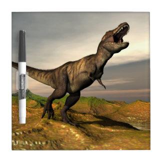 Tyrannosaurus rex dinosaur - 3D render Dry Erase Whiteboards