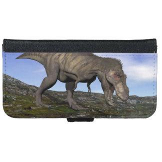 Tyrannosaurus rex dinosaur - 3D render iPhone 6 Wallet Case
