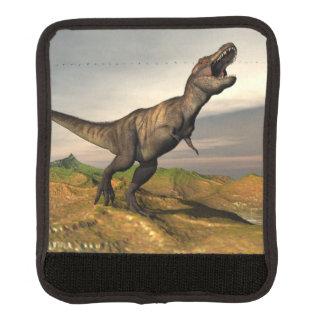 Tyrannosaurus rex dinosaur - 3D render Luggage Handle Wrap