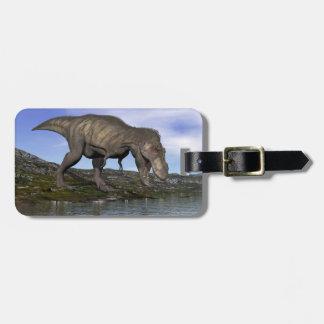 Tyrannosaurus rex dinosaur - 3D render Luggage Tag