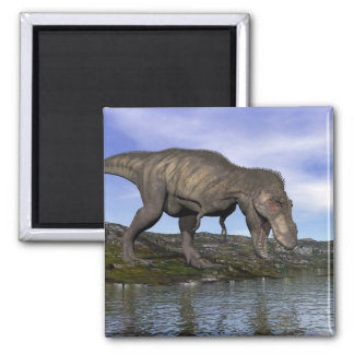 Tyrannosaurus rex dinosaur - 3D render Magnet