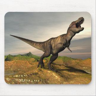 Tyrannosaurus rex dinosaur - 3D render Mouse Pad