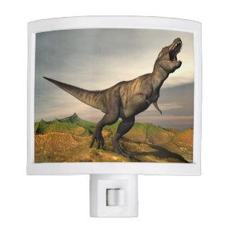 Tyrannosaurus rex dinosaur - 3D render Night Light