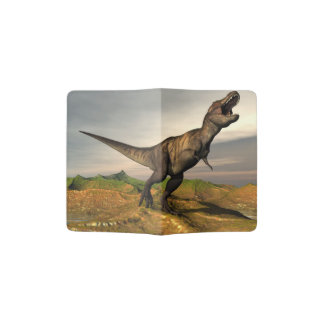 Tyrannosaurus rex dinosaur - 3D render Passport Holder