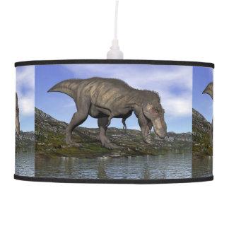 Tyrannosaurus rex dinosaur - 3D render Pendant Lamp