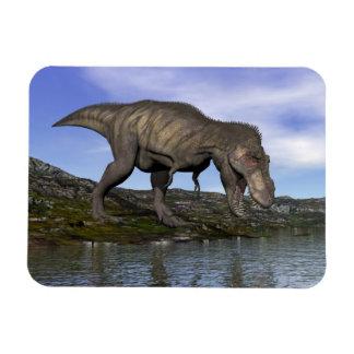 Tyrannosaurus rex dinosaur - 3D render Rectangular Photo Magnet