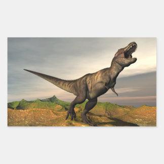 Tyrannosaurus rex dinosaur - 3D render Sticker