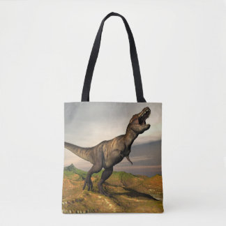 Tyrannosaurus rex dinosaur - 3D render Tote Bag