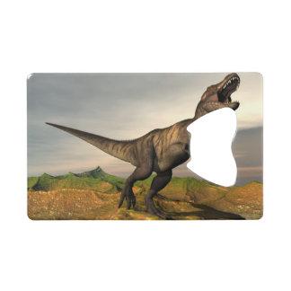 Tyrannosaurus rex dinosaur - 3D render Wallet Bottle Opener