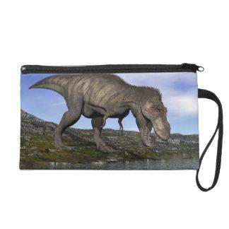 Tyrannosaurus rex dinosaur - 3D render Wristlet