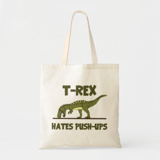 Tyrannosaurus Rex Dinosaur Hates Push Ups