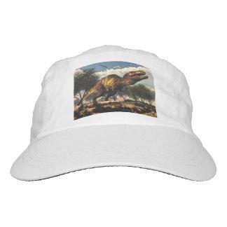 Tyrannosaurus rex dinosaur protecting its eggs hat