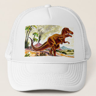 Tyrannosaurus Rex Dinosaur Trucker Hat