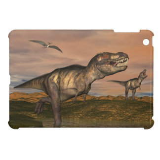 Tyrannosaurus rex dinosaurs - 3D render Case For The iPad Mini