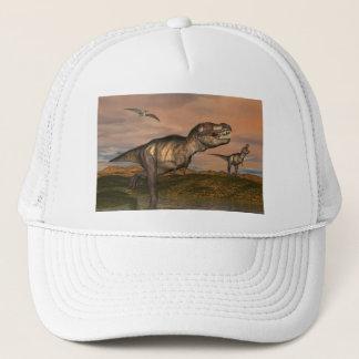 Tyrannosaurus rex dinosaurs - 3D render Trucker Hat