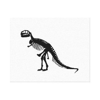 Tyrannosaurus Rex Gallery Wrap Canvas