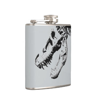 Tyrannosaurus rex hip flask