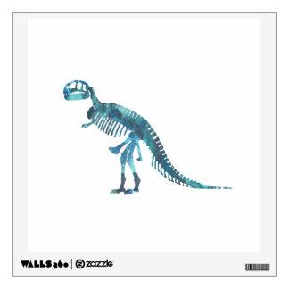 Tyrannosaurus rex skeleton art wall sticker