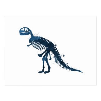 Tyrannosaurus Rex Skeleton Postcard