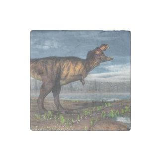 Tyrannosaurus rex stone magnets