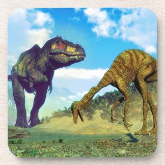 Tyrannosaurus rex surprising gallimimus dinosaurs coaster