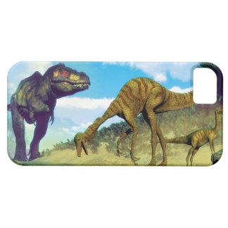 Tyrannosaurus rex surprising gallimimus dinosaurs iPhone 5 cases