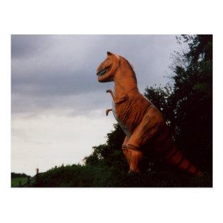 Tyrannosaurus Rex T-Rex Dinosaur Postcard Photo