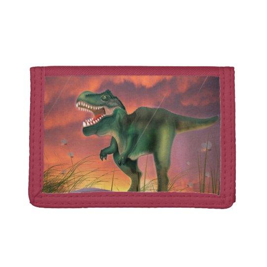 Tyrannosaurus Rex Trifold Wallets