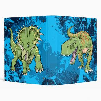Tyrannosaurus Rex vs Triceratops  Dinosaurs Binder