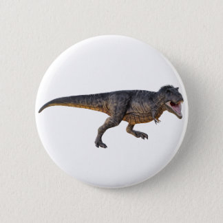 Tyrannosaurus-Rex with Yellow Coloring 2 Inch Round Button