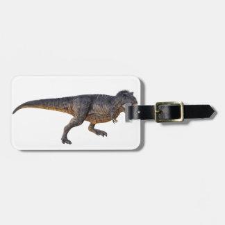 Tyrannosaurus-Rex with Yellow Coloring Bag Tag
