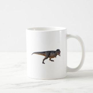 Tyrannosaurus-Rex with Yellow Coloring Coffee Mug