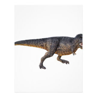 Tyrannosaurus-Rex with Yellow Coloring Letterhead