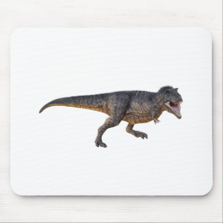 Tyrannosaurus-Rex with Yellow Coloring Mouse Pad