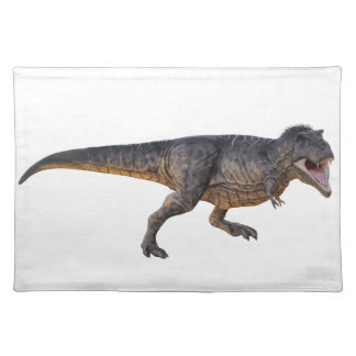 Tyrannosaurus-Rex with Yellow Coloring Placemat