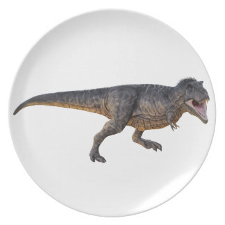 Tyrannosaurus-Rex with Yellow Coloring Plate