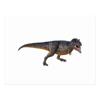 Tyrannosaurus-Rex with Yellow Coloring Postcard