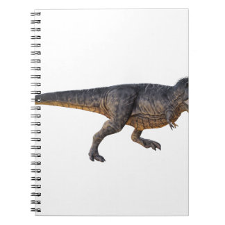 Tyrannosaurus-Rex with Yellow Coloring Spiral Notebook