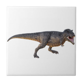 Tyrannosaurus-Rex with Yellow Coloring Tile