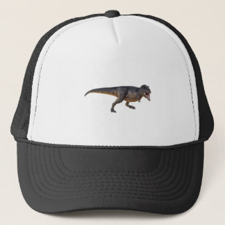 Tyrannosaurus-Rex with Yellow Coloring Trucker Hat