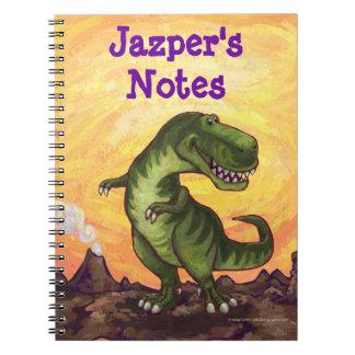 Tyrannosaurus Rex Writing Stuff Notebooks