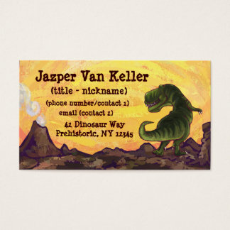 T Rex Business Cards And Business Card Templates Zazzle Canada