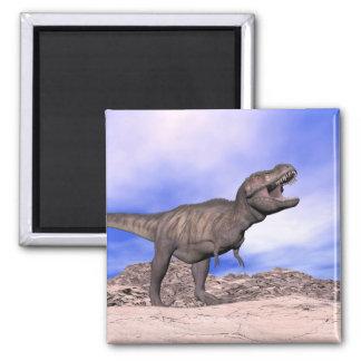 Tyrannosaurus roaring - 3D render Magnet