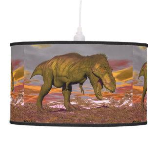 Tyrannosaurus roaring - 3D render Pendant Lamp