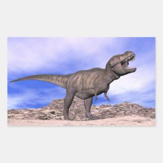 Tyrannosaurus roaring - 3D render Sticker