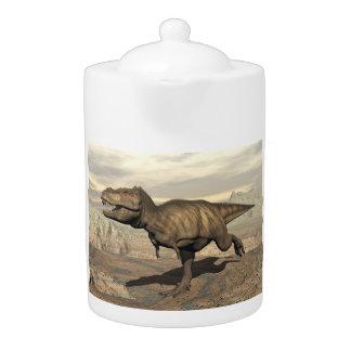 Tyrannosaurus running - 3D render
