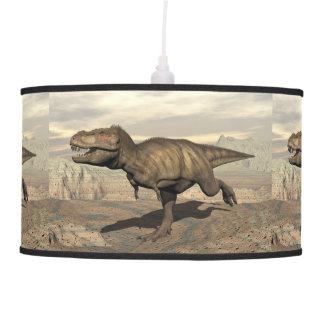 Tyrannosaurus running - 3D render Pendant Lamp