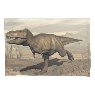 Tyrannosaurus running - 3D render Pillowcase